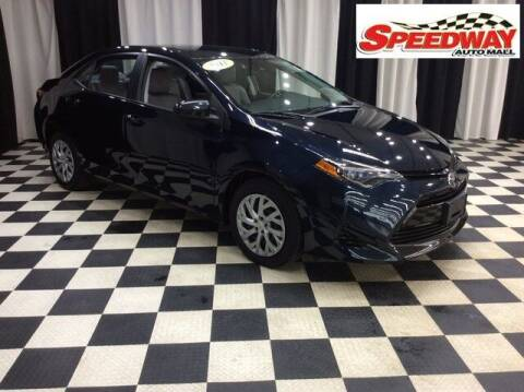 2017 Toyota Corolla for sale at SPEEDWAY AUTO MALL INC in Machesney Park IL