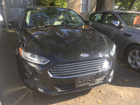 2016 Ford Fusion for sale at MELILLO MOTORS INC in North Haven CT