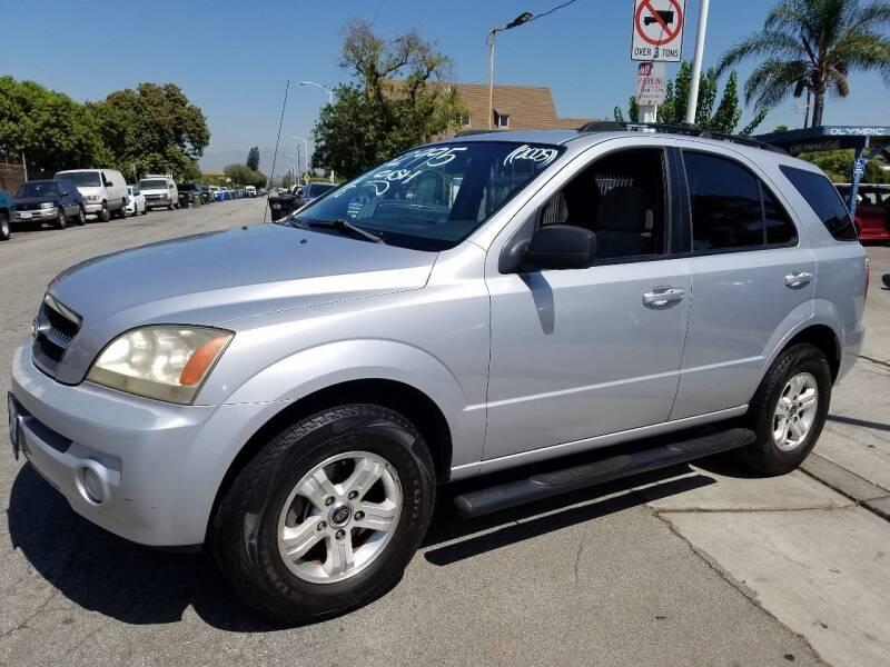 2005 Kia Sorento for sale at Olympic Motors in Los Angeles CA