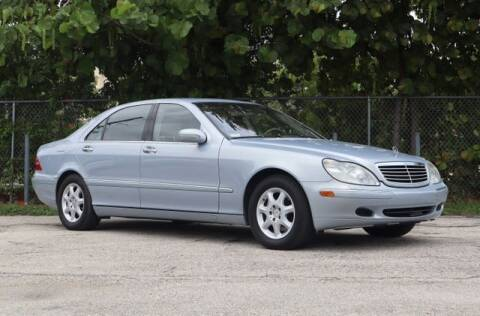 2002 Mercedes-Benz S-Class for sale at No 1 Auto Sales in Hollywood FL