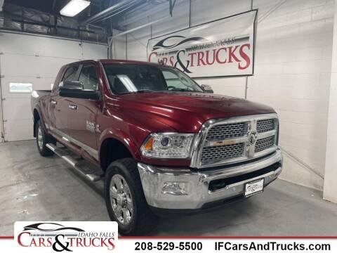 2017 RAM Ram Pickup 2500 for sale at Idaho Falls Cars and Trucks in Idaho Falls ID