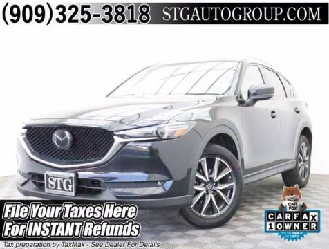 2018 Mazda CX-5 for sale at STG Auto Group in Montclair CA