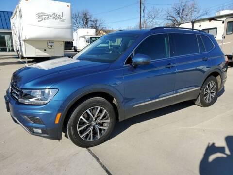 2018 Volkswagen Tiguan for sale at Kell Auto Sales, Inc - Grace Street in Wichita Falls TX