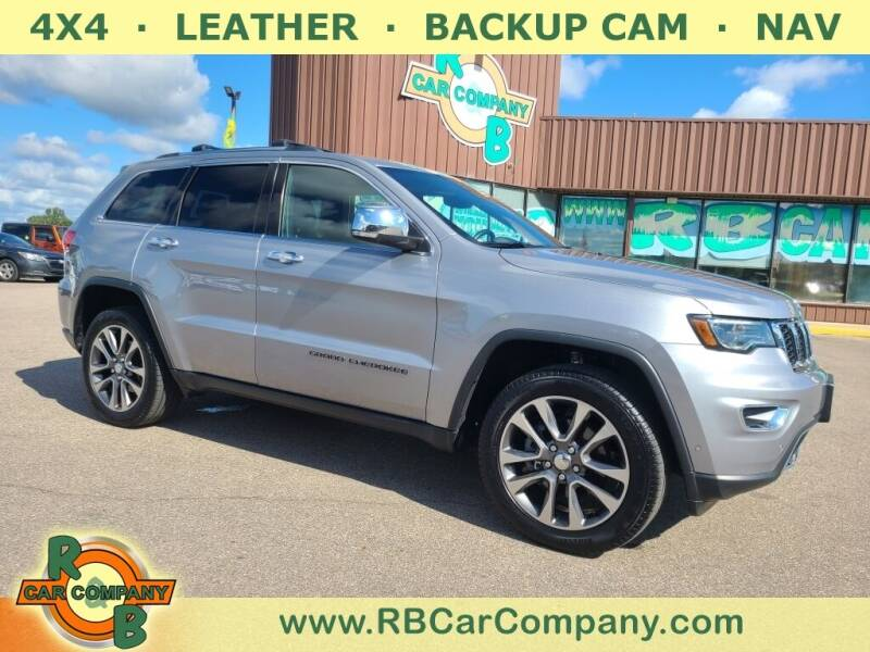 2018 Jeep Grand Cherokee for sale at R & B Car Co in Warsaw IN