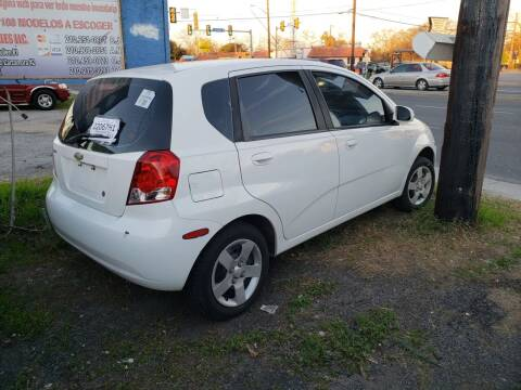 2005 Chevrolet Aveo for sale at C.J. AUTO SALES llc. in San Antonio TX