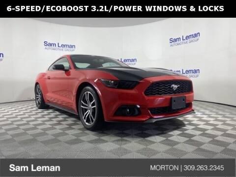 2016 Ford Mustang for sale at Sam Leman CDJRF Morton in Morton IL