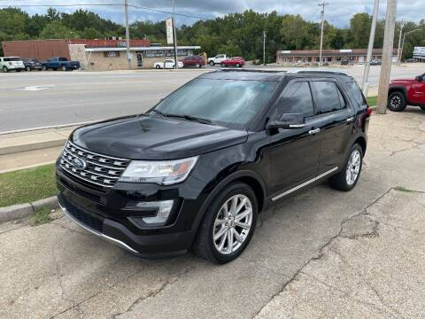2016 Ford Explorer for sale at Greg's Auto Sales in Poplar Bluff MO