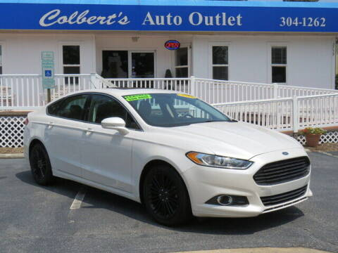 2015 Ford Fusion for sale at Colbert's Auto Outlet in Hickory NC