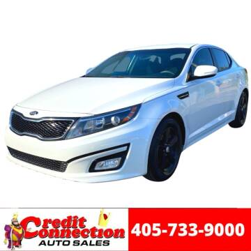 2015 Kia Optima for sale at Credit Connection Auto Sales in Midwest City OK