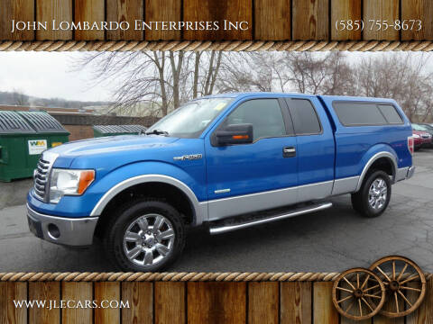 2012 Ford F-150 for sale at John Lombardo Enterprises Inc in Rochester NY