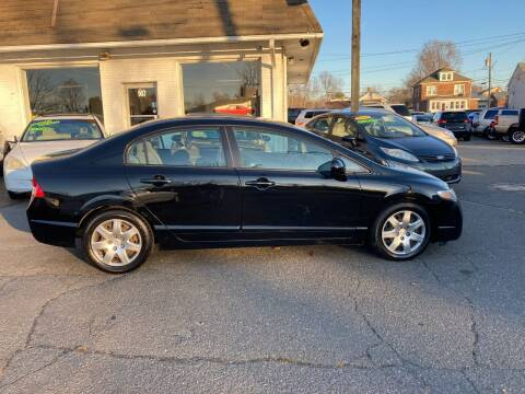 2009 Honda Civic for sale at ENFIELD STREET AUTO SALES in Enfield CT