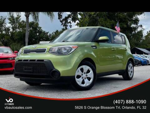 2014 Kia Soul for sale at V & B Auto Sales in Orlando FL