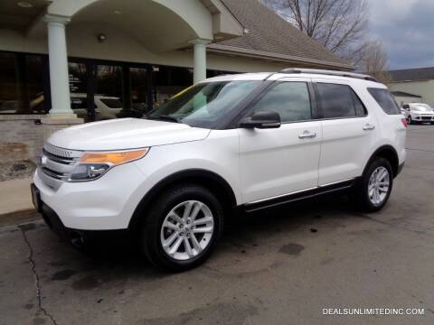 2012 Ford Explorer for sale at DEALS UNLIMITED INC in Portage MI