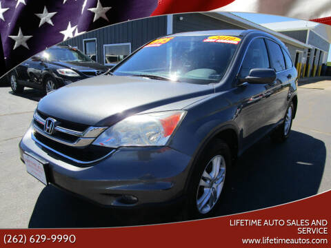 2010 Honda CR-V for sale at Lifetime Auto Sales and Service in West Bend WI