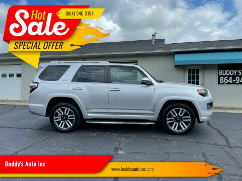 2018 Toyota 4Runner for sale at Buddy's Auto Inc in Pendleton SC