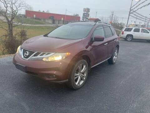 2011 Nissan Murano for sale at Tim Short Auto Mall in Corbin KY
