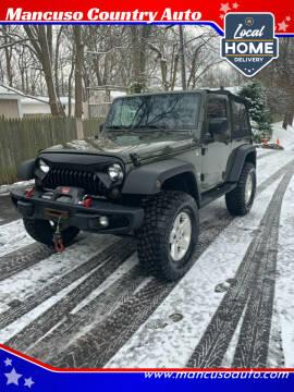 2015 Jeep Wrangler for sale at Mancuso Country Auto in Batavia NY