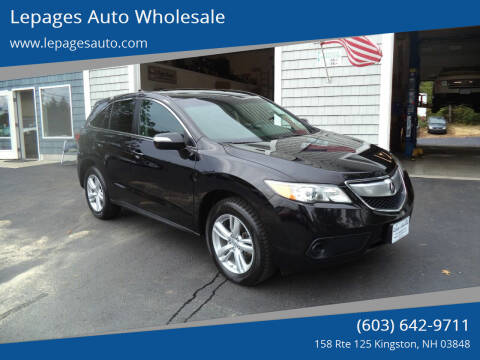2013 Acura RDX for sale at Lepages Auto Wholesale in Kingston NH
