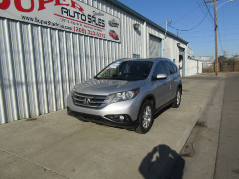 2012 Honda CR-V for sale at SUPER AUTO SALES STOCKTON in Stockton CA