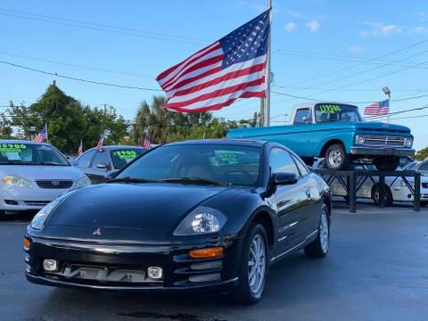 2000 Mitsubishi Eclipse for sale at KD's Auto Sales in Pompano Beach FL