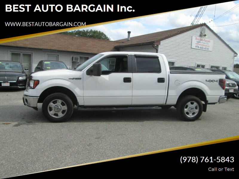 2012 Ford F-150 for sale at BEST AUTO BARGAIN inc. in Lowell MA