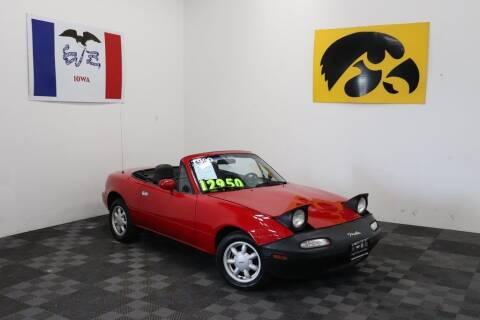 1990 Mazda MX-5 Miata for sale at Carousel Auto Group in Iowa City IA