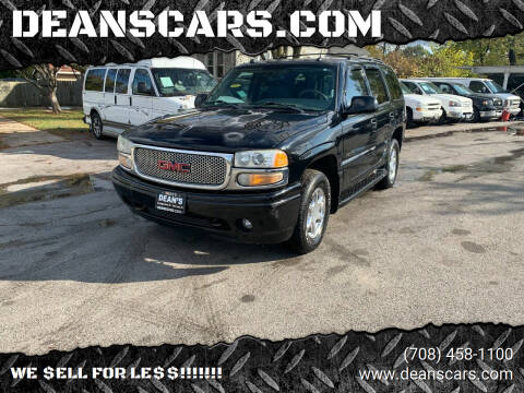 2004 GMC Yukon for sale at DEANSCARS.COM in Bridgeview IL
