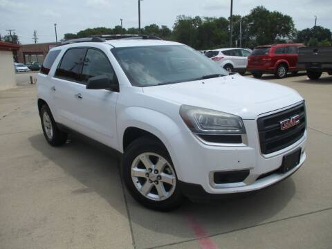 2016 GMC Acadia for sale at DFW Auto Leader in Lake Worth TX