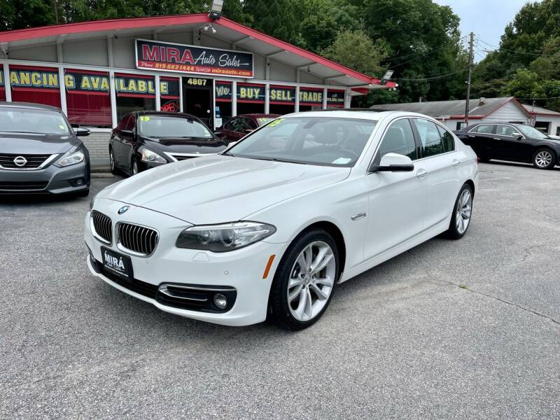 2015 BMW 5 Series for sale at Mira Auto Sales in Raleigh NC