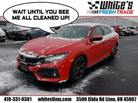 2018 Honda Civic for sale at White's Honda Toyota of Lima in Lima OH