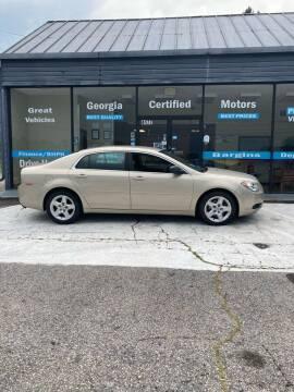 2012 Chevrolet Malibu for sale at Georgia Certified Motors in Stockbridge GA