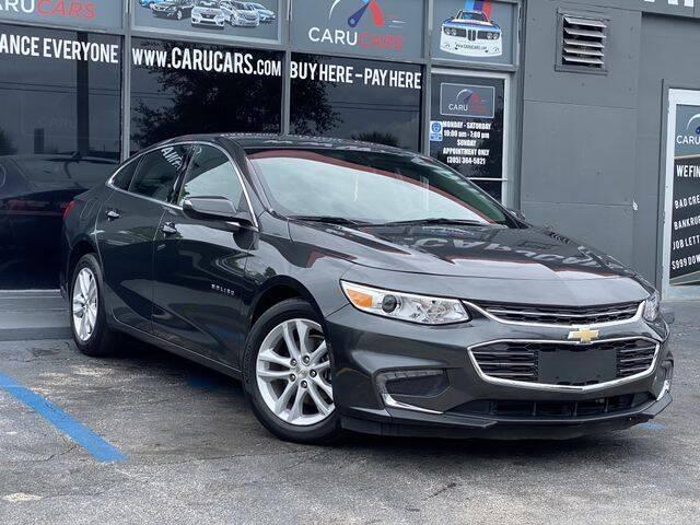 2018 Chevrolet Malibu for sale at CARUCARS LLC in Miami FL