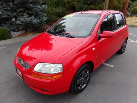 2007 Chevrolet Aveo for sale at Signature Auto Sales in Bremerton WA