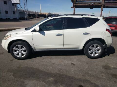 2007 Nissan Murano for sale at Creekside Auto Sales in Pocatello ID