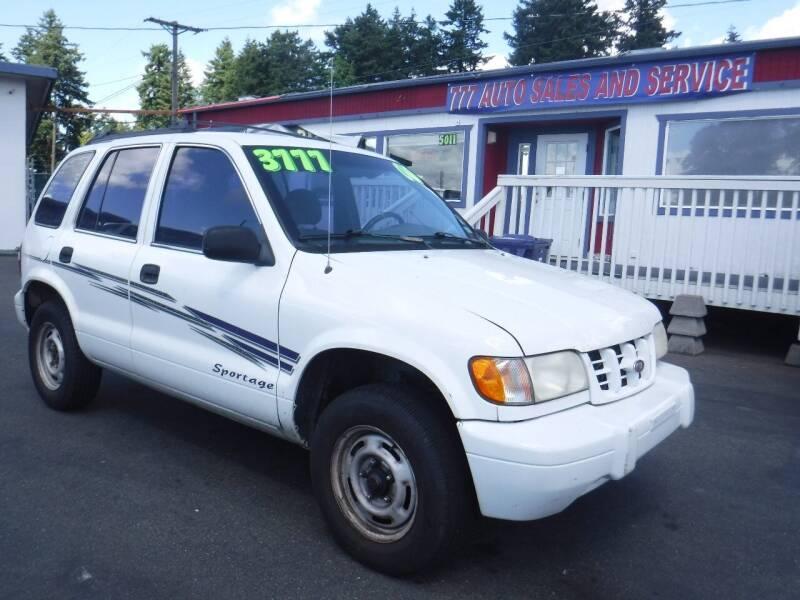 2000 Kia Sportage for sale in Tacoma, WA