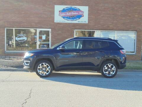 2020 Jeep Compass for sale at Eyler Auto Center Inc. in Rushville IL