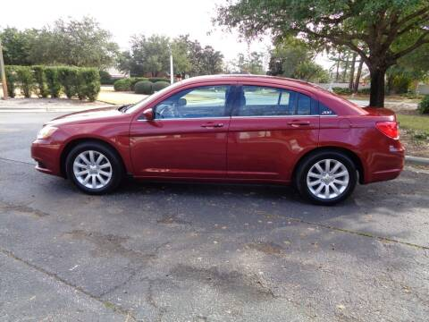 2014 Chrysler 200 for sale at BALKCUM AUTO INC in Wilmington NC
