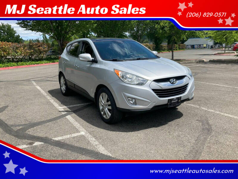 2013 Hyundai Tucson for sale at MJ Seattle Auto Sales in Kent WA