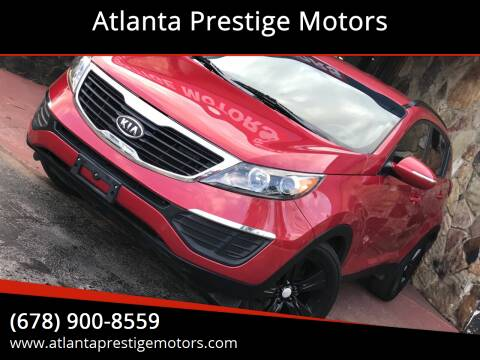2011 Kia Sportage for sale at Atlanta Prestige Motors in Decatur GA