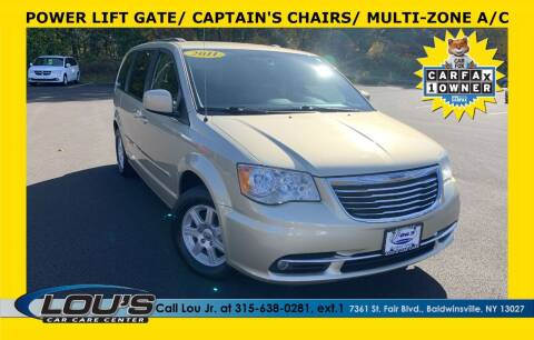 2011 Chrysler Town and Country for sale at LOU'S CAR CARE CENTER in Baldwinsville NY
