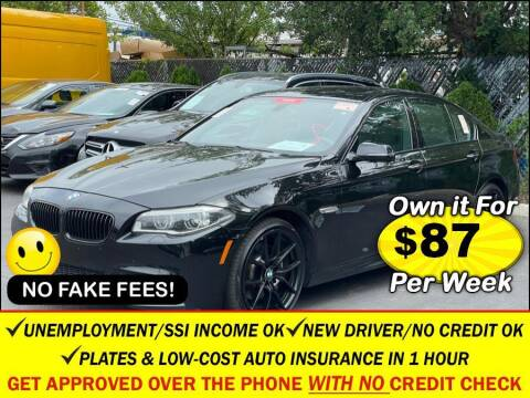 2014 BMW 5 Series for sale at AUTOFYND in Elmont NY
