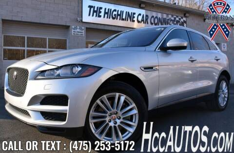 2019 Jaguar F-PACE for sale at The Highline Car Connection in Waterbury CT