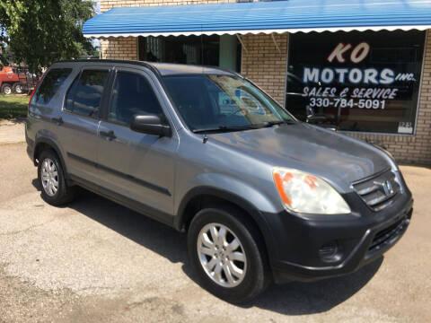 2006 Honda CR-V for sale at K O Motors in Akron OH
