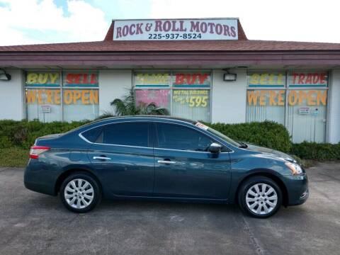 2014 Nissan Sentra for sale at Rock & Roll Motors in Baton Rouge LA