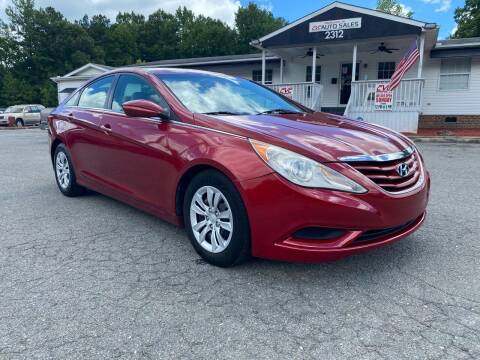 2011 Hyundai Sonata for sale at CVC AUTO SALES in Durham NC