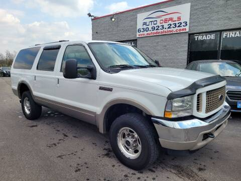 2004 Ford Excursion for sale at Auto Deals in Roselle IL