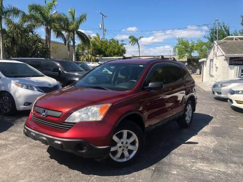 2007 Honda CR-V for sale at Citywide Auto Group LLC in Pompano Beach FL