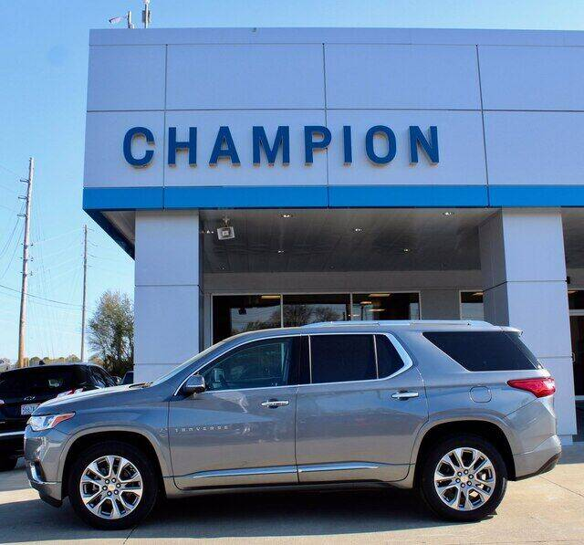2021 Chevrolet Traverse for sale at Champion Chevrolet in Athens AL