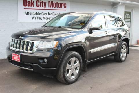 2013 Jeep Grand Cherokee for sale at Oak City Motors in Garner NC