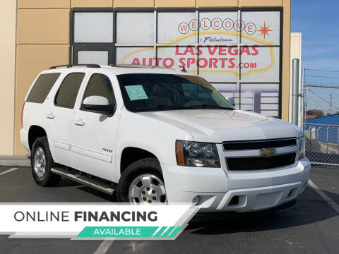 2013 Chevrolet Tahoe for sale at Las Vegas Auto Sports in Las Vegas NV